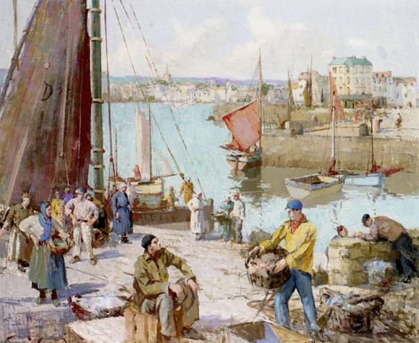 Bringing In Fish Dieppe